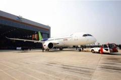 陸產客機C919將首飛 訂單570架