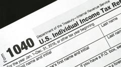 報稅季過半了 美國人報稅件數大減
