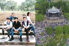 獨/超壯觀!五月天開唱 人潮塞爆大安森林公園
