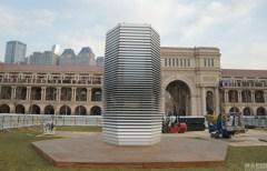天津「霧霾淨化塔」亮相 是空汙治理神器還是藝術品?