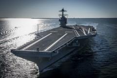 地表最強航母福特號 將撥交美國海軍