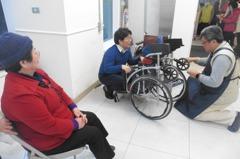 輪椅積毛髮半路卡關 專家:稍感不順手就需保養