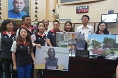 賴神限期修復八田銅像 藍議員:國父銅像也須歸位