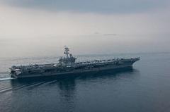 美國海軍:卡爾文森號下周才抵朝鮮半島
