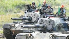 裝甲兵科2女官校生將畢業 國軍戰車排將有女車長