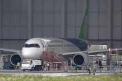 大陸C919客機將首飛 可望帶動國內零組件廠商商機