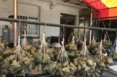 彰化縣福興農會下重本 推出百元「干貝鮑魚」粽子