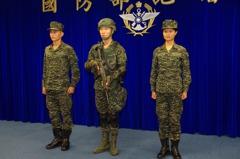 陸戰隊「數位虎斑」制服亮相 下周聯興操演換裝
