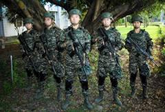 數位虎斑迷彩服將登場 陸戰隊指揮官:總統與部長支持