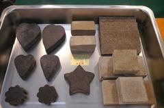 用咖啡渣製磚 科大生研發綠建材