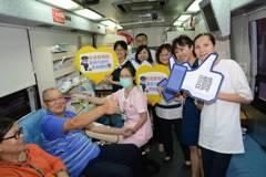 「警察節就是要捐血!」 台南波麗士豪氣過節