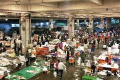 Cianjhen Fish Market Vibrant at 3 o'clock in the Morning