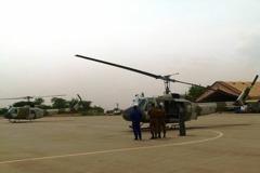 我捐兩架UH-1H給友邦 舊機換新裝