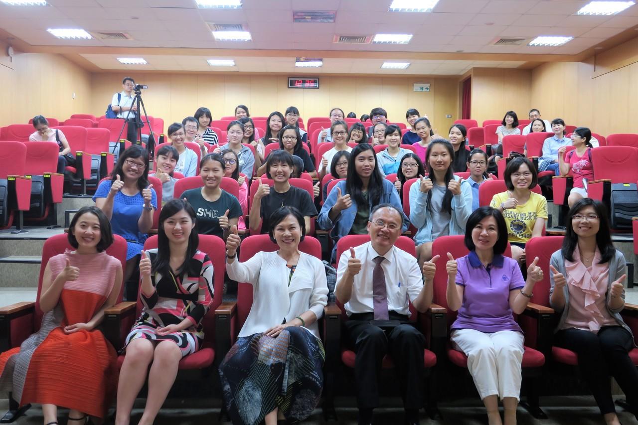 台南女中也推師徒制 向大師近身學習