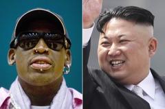 抵達北韓 前NBA球星羅德曼:川普會為我感到高興