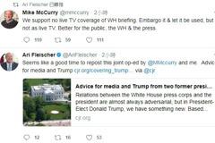 白宮2前發言人 反對白宮新聞簡報會直播