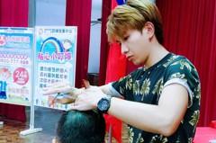 參加職訓圓夢 他從陽剛軍人變型男美髮師
