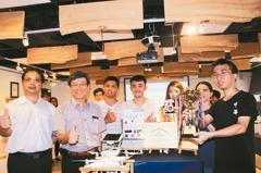 無人機防磁磚雨 東京發明展金牌