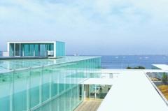 近郊度假天堂! 從優美的橫須賀美術館窺探遠方的海