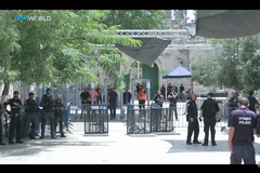 進入清真寺要安檢 以巴衝突升溫