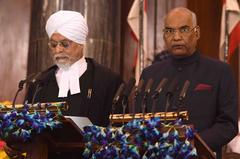 柯文德出任新總統 印度政府鞏固賤民心