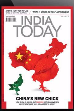 《今日印度》 將中國版圖刪除西藏台灣