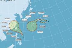路徑可能再南修!颱風尼莎從哪登陸?專家說關鍵在高壓