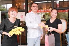 好蕉情 雄崗購千斤香蕉 買屋賞屋餐廳消費即送