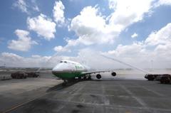 長榮波音747-400客機 正式走入歷史