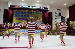 上百名監獄高齡收容人齊聚新竹 變身舞棍阿伯阿嬤