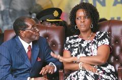 辛巴威第一夫人 打人還落跑