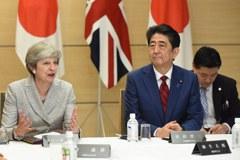 北韓射彈後梅伊訪日 英日加強安全合作