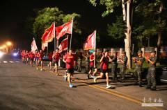 慶祝陸戰隊70周年慶 退役弟兄環台開跑