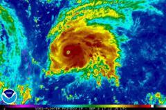 又有颶風!緊跟「厄瑪」之後 「荷西」強度已升至四級