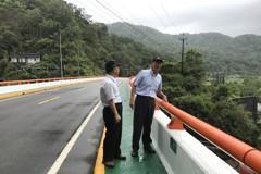 瑞芳橋梁上漆換新裝 能見度高保安全