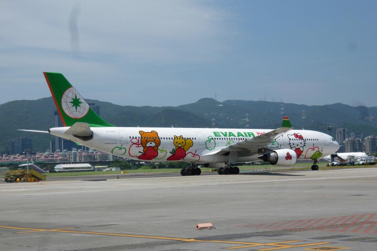 泰利颱風影響 長榮多條國際航線14日停飛