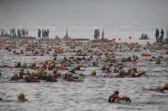 日月潭泳渡/2萬名下水 馬英九連續2年挑戰