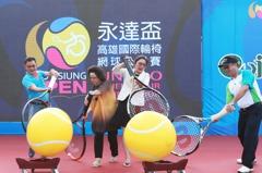 國際輪椅網球公開賽 永不放棄展現生命力