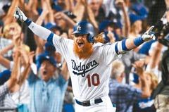 MLB/道奇透納再見轟 複製29年前名將表現