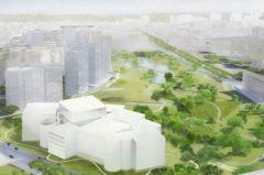 日本建築師妹島新作 「台中綠美圖」111年啟用