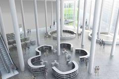 台中綠美圖 圖書館採分齡分棟