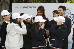 梅蘭妮亞與韓團男成員驚喜同台 影片瘋傳