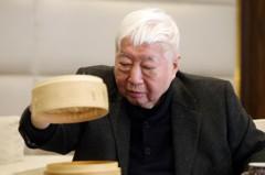 南僑陳飛龍看好外食人口增加 點水樓大直店開幕