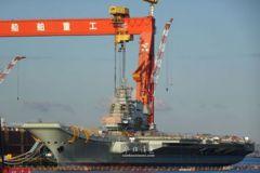 大陸首艘自製航母進入最後階段 擬於2020年入列
