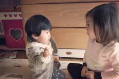 咘咘哄抱爆哭妞 修杰楷帶2小情人崩潰愛睏