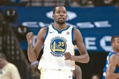 NBA/勇士計畫西雅圖打熱身賽 KD期待成行