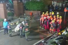 翠堤大樓凌晨新發現1女性遺體 疑躺床上遭天花板塌壓