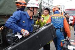 花蓮強震/探測器尚未找到活體 日搜救隊離開雲翠現場