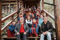 921災後重建、30生最美森林小學 辦櫻花南管茶會