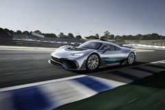 Mercedes-AMG Project One 擁有約700公斤下壓力